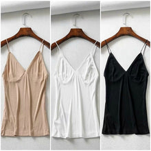 Load image into Gallery viewer, Pack of 3 Long Breathable Camisole Essential Tank Top