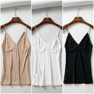 Pack of 3 Long Breathable Camisole Essential Tank Top