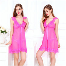 Load image into Gallery viewer, Women Mini Babydoll Lingerie Sleepwear Nightie