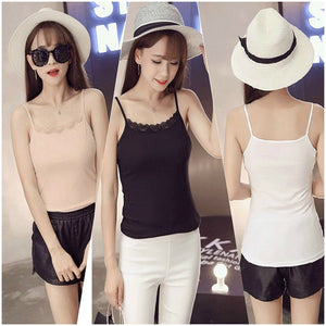 Pack of 3 Super Soft & Stretch Cotton Camisole Tank Top