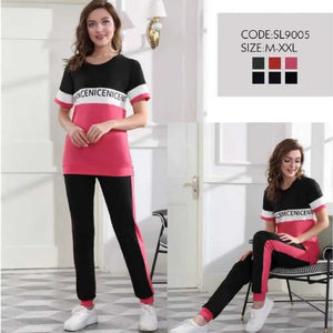 Women's Short Sleeves Loungewear Pj's