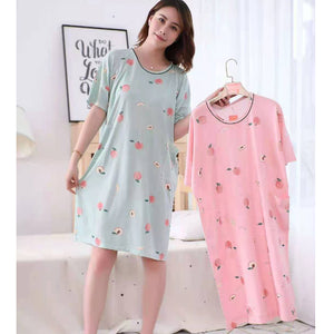 Girls Cute Print Cotton Sleep Shirt