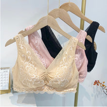 Load image into Gallery viewer, Non Wired Lace Embroidered Side Support Bra
