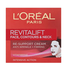 Load image into Gallery viewer, L'Oréal Paris Dermo-Expertise Revitalift Face Contours and Neck Re-Support Cream 50ml