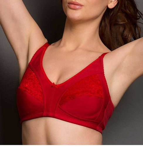 half lace bra,jersy cotton bra,cotton bra,wide strap bra,comfortable bra,daily bra,daily wear bra,everyday bra, everyday wear bra,non wired bra,wireless bra,wirefree bra, without foam bra,non foam bra, women's bra,ladies bra, home wear bra, home bra,lace and cotton bra