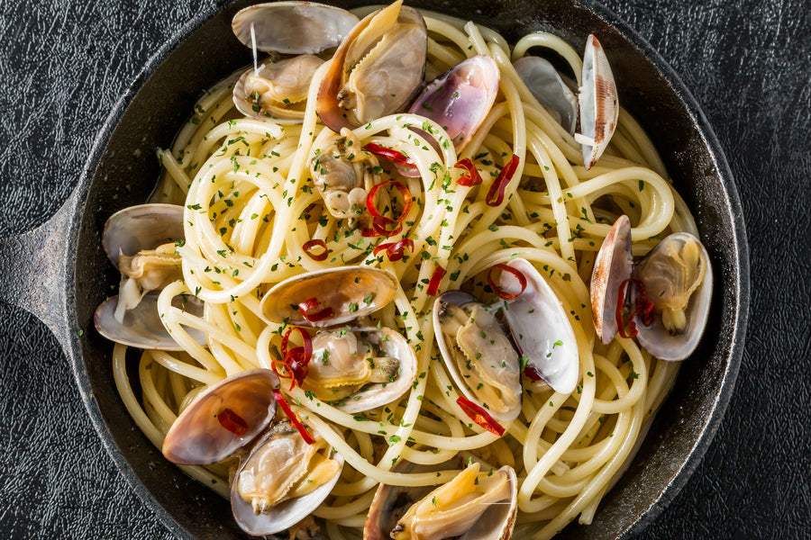 Linguine con Vongole Recipe