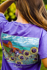 Lillybelle Field of Sunflowers Tee