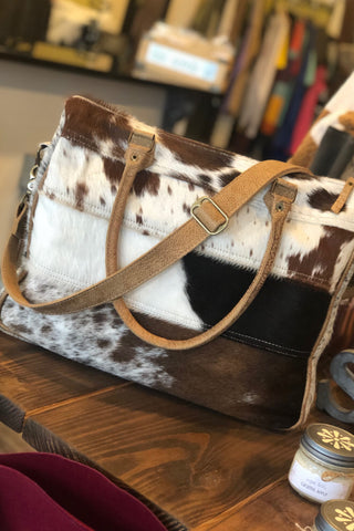 Cowhide Laptop Bag