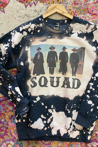 Tombstone Acid Wash Squad Sweatshirt