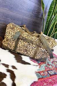 Leopard Acid Duffle Bag