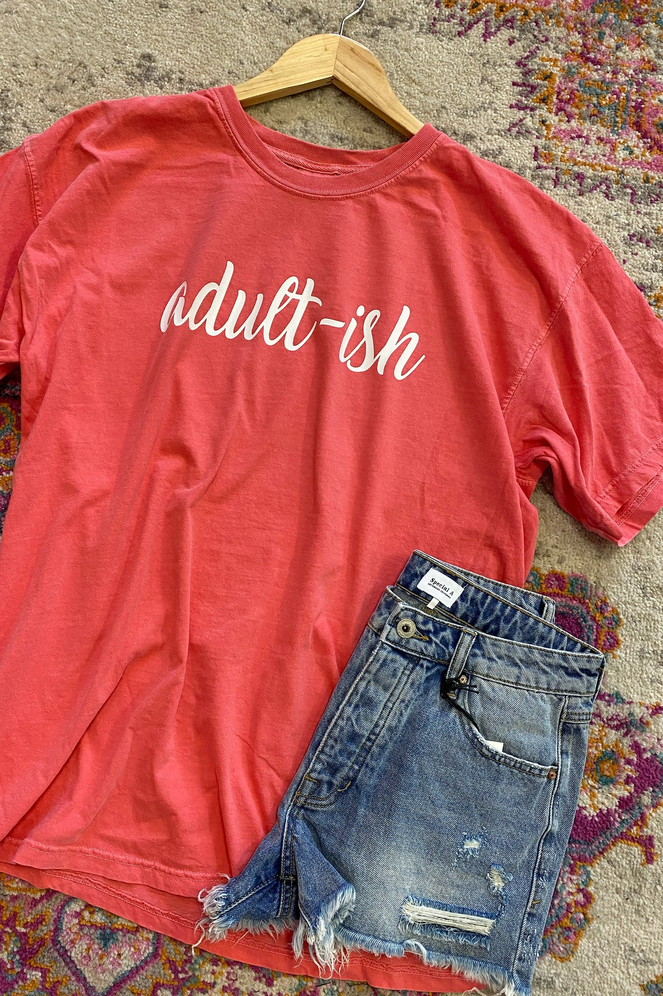Adult-ish Comfort Colors Watermelon Tee