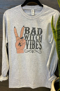 Bad Witch Vibes Long Sleeve Tee