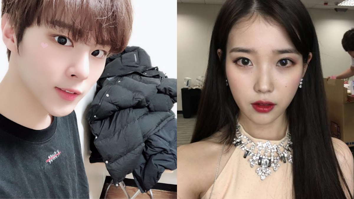 5 Idols Who Are Masters at Taking Selfies kim wooseok iu