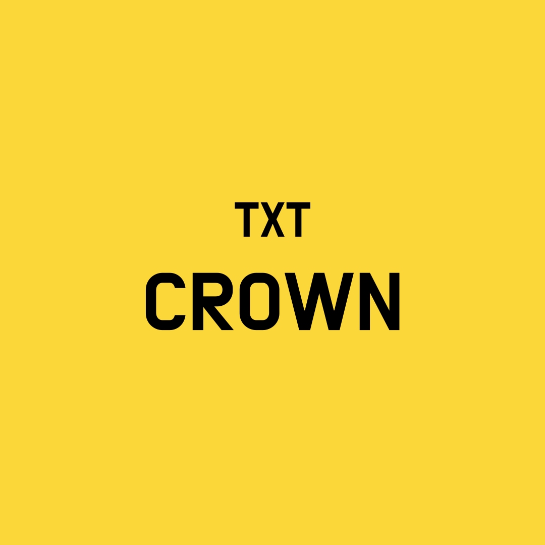TXT Crown