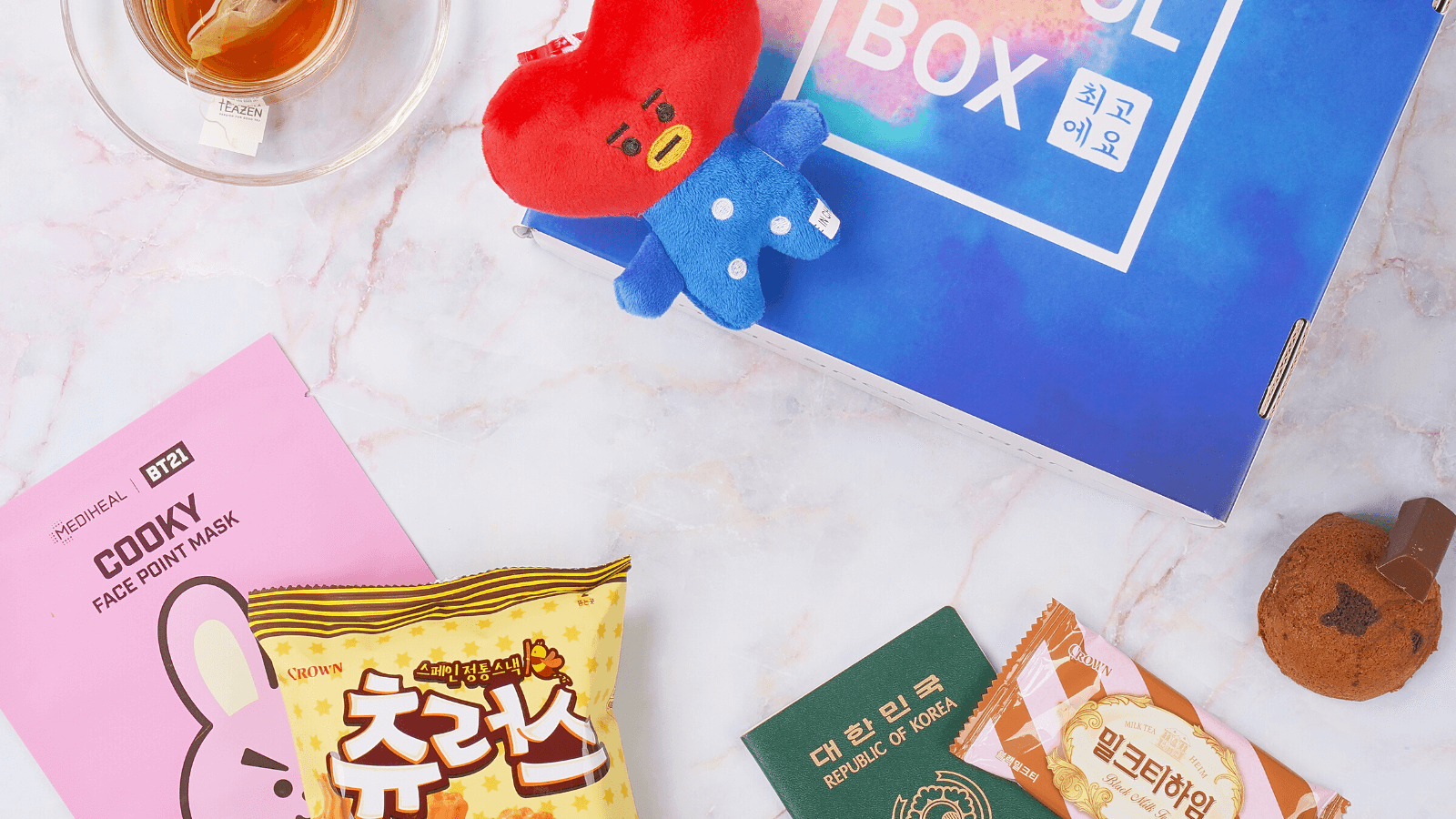 Jan '20 Taste the World SeoulBox.
