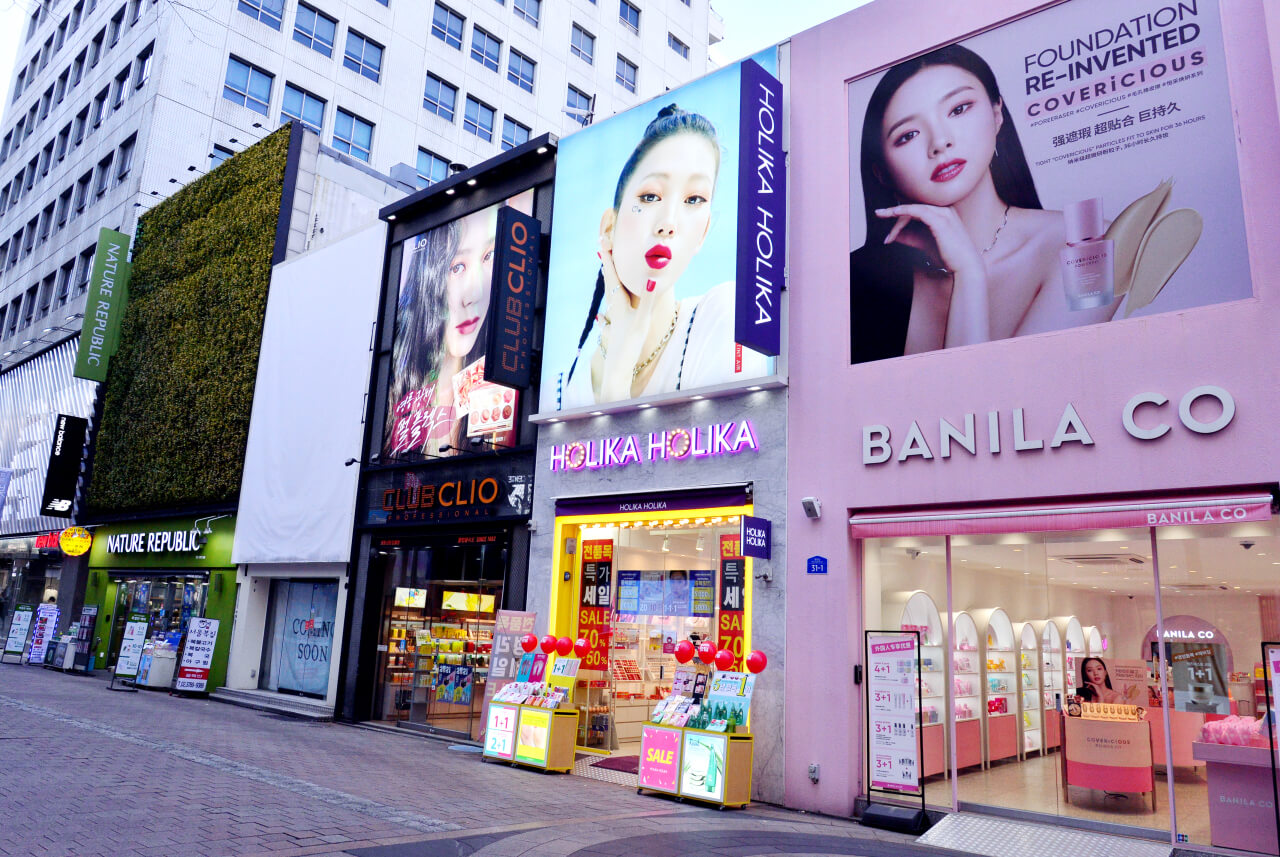 FAMOUS KOREAN BEAUTY STORES IN SEOUL!