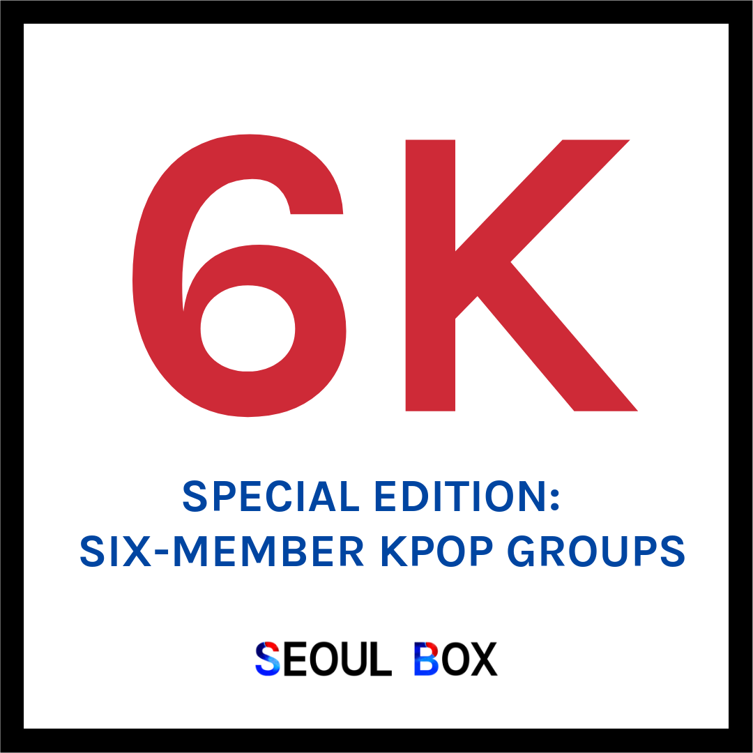 6k special edition six member kpop groups
