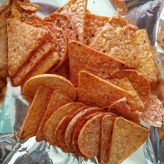 pizza nacho chips corn chip