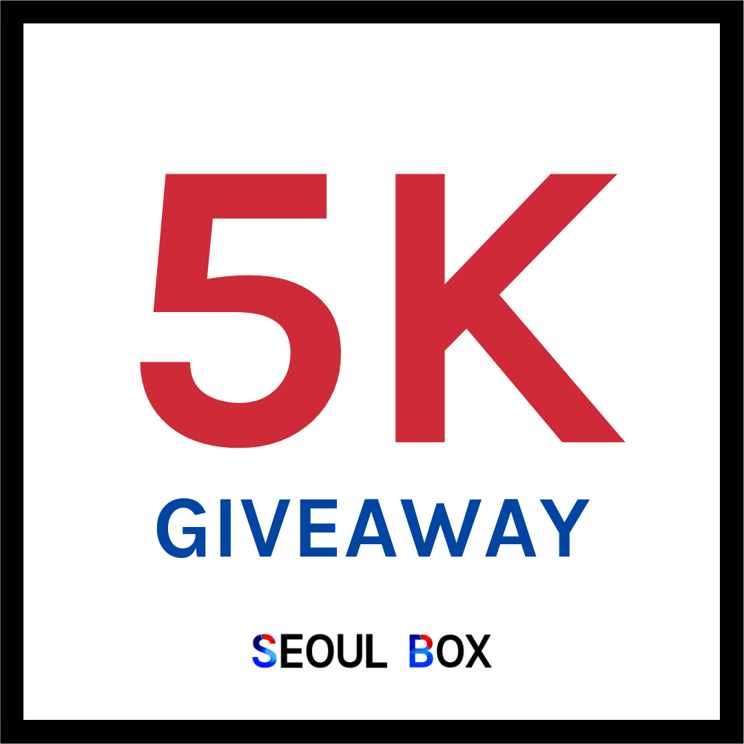 5k giveaway instagram free korean snack box by seoul box unboxyourseoul