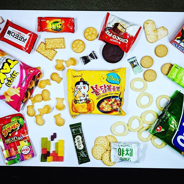korean snacks