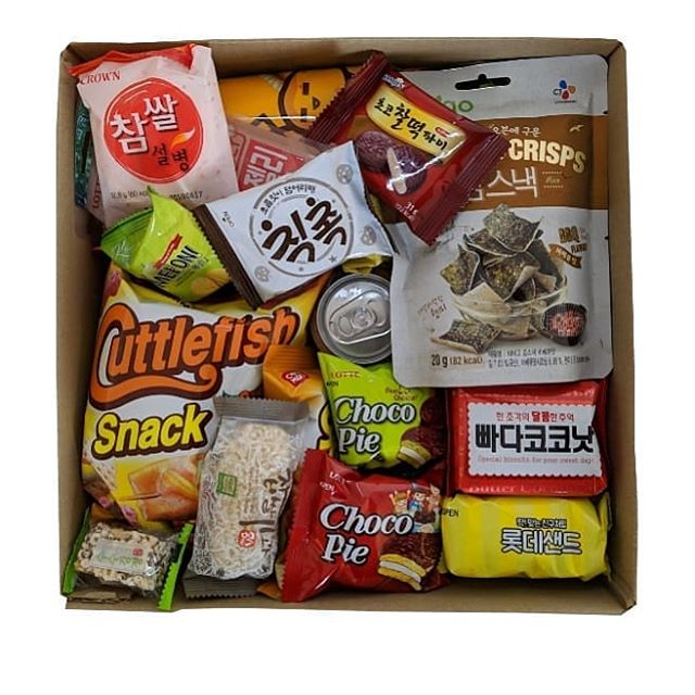 seoul korean snack box