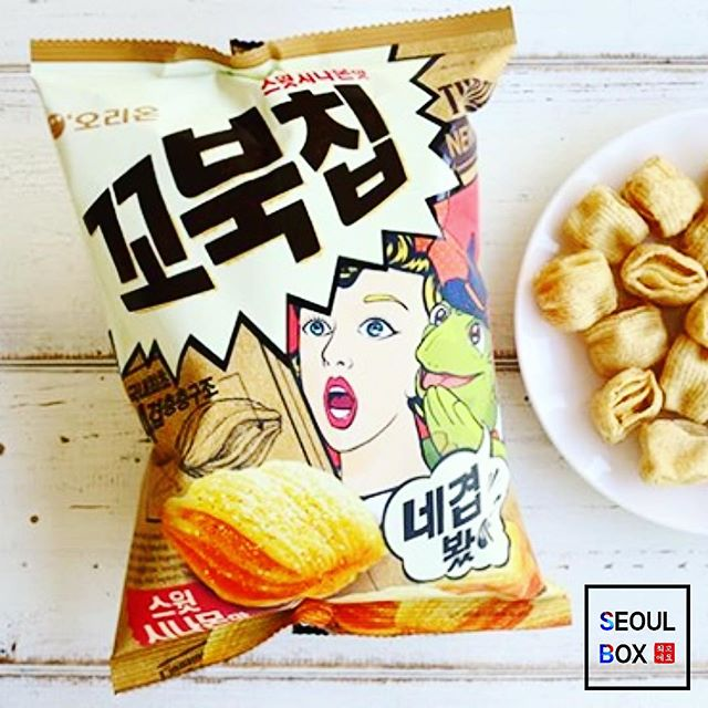 kobuk chip sweet cinamon bestseller korean snack