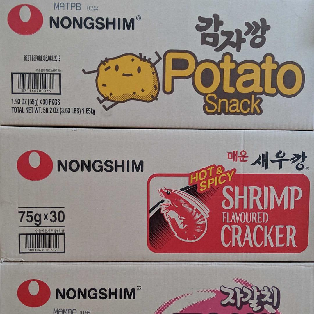 korean snack boxes