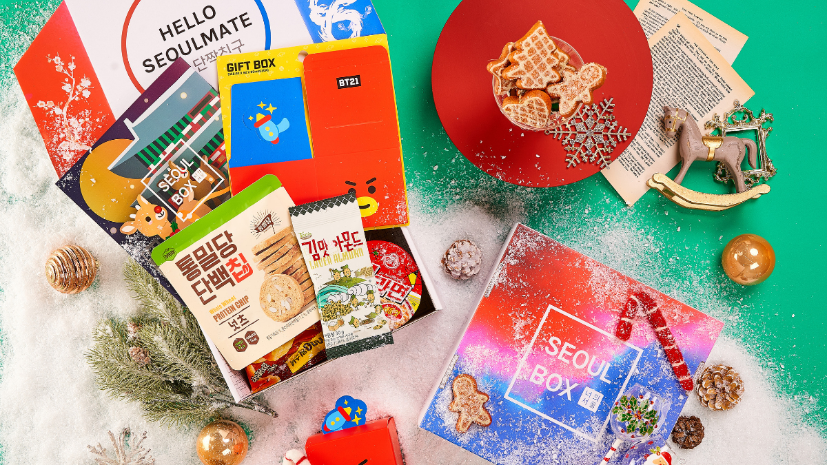 Sneak peek - December Seoulbox