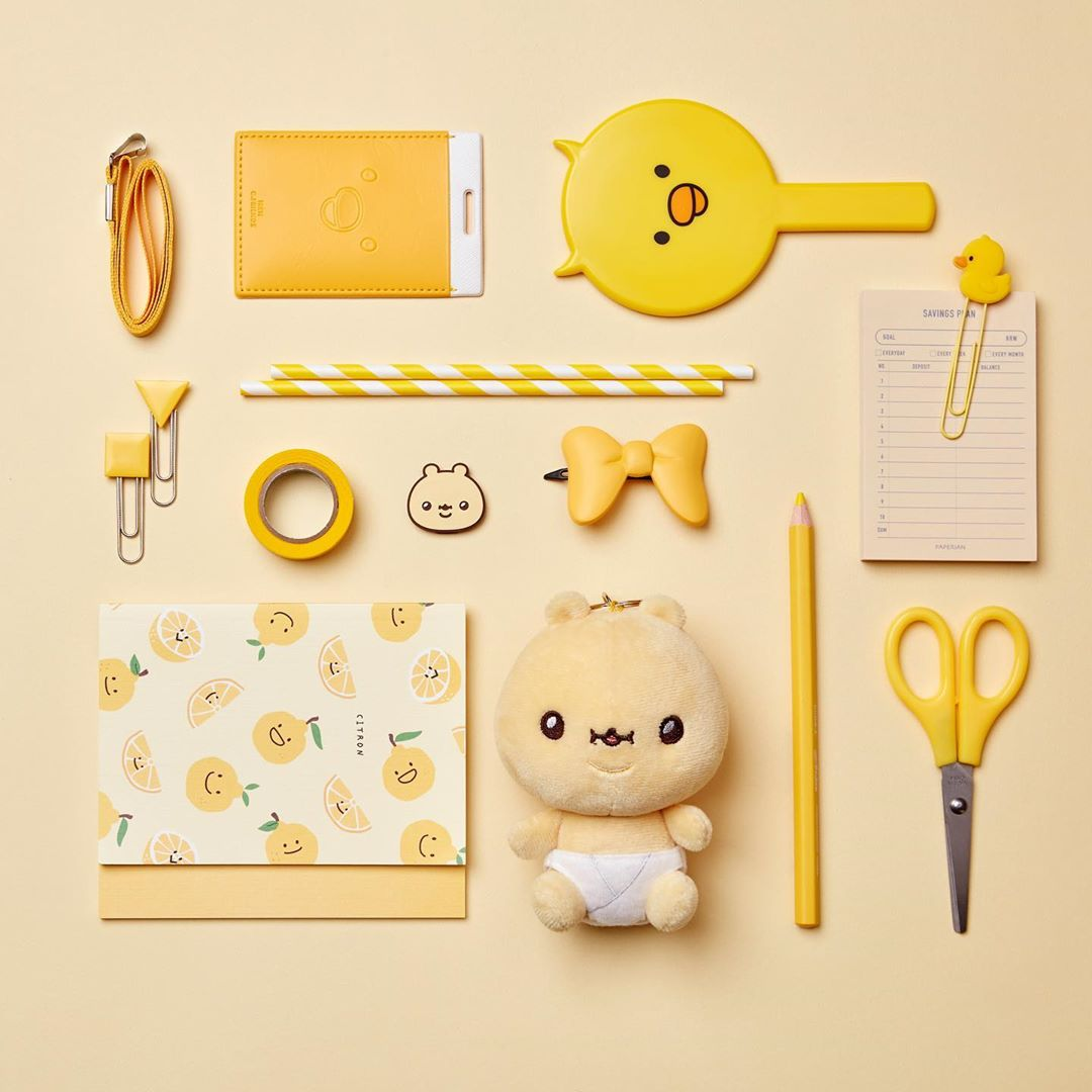 Korean self-care stationery items