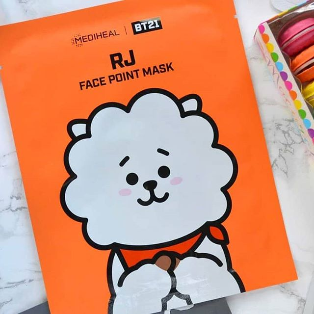 BT21 Mediheal Face Point Mask RJ