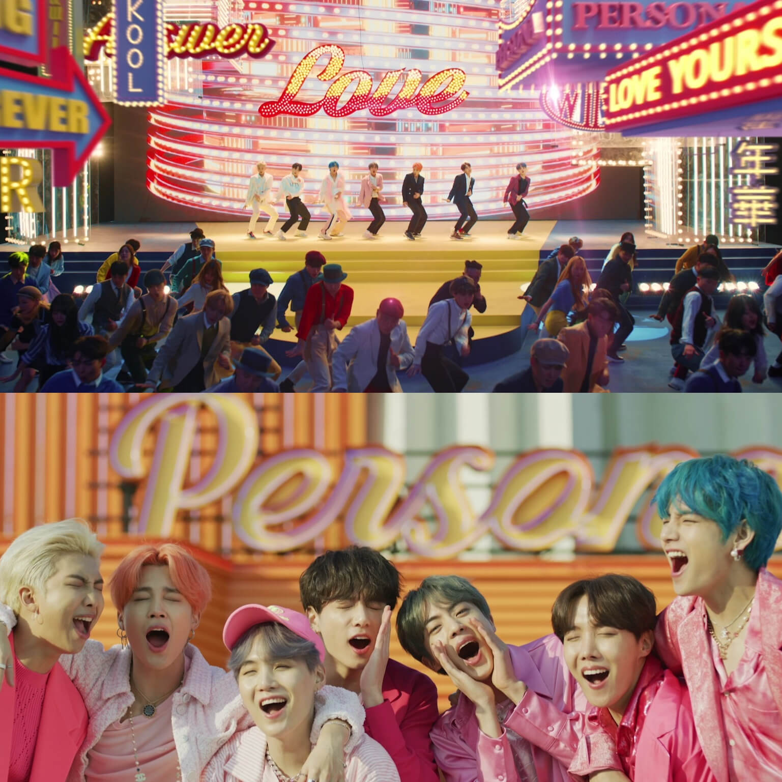 bts boy with luv with halsey