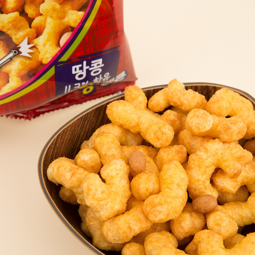 caramel peanut puff a Korean cinema snack to try