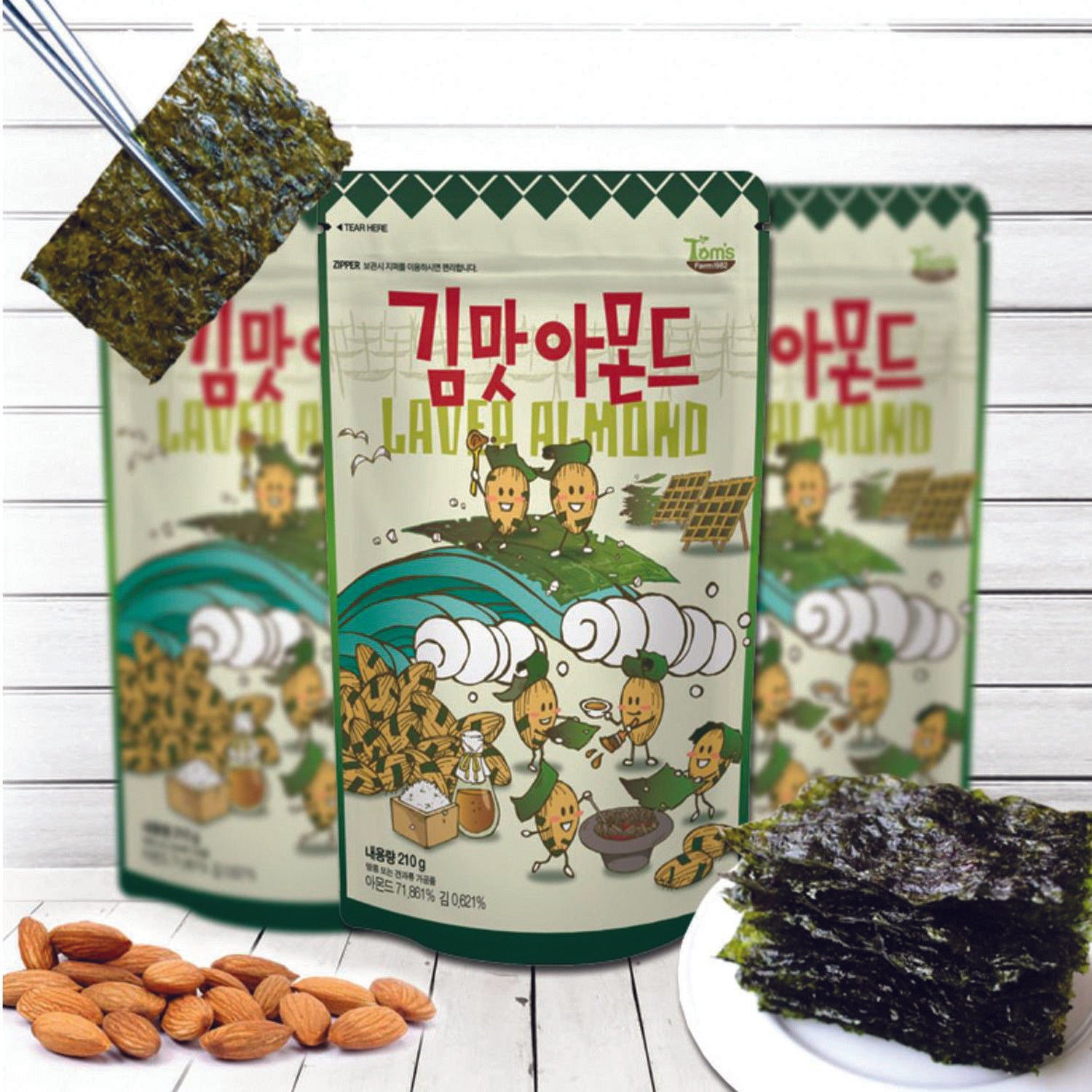Buy Korean almonds online