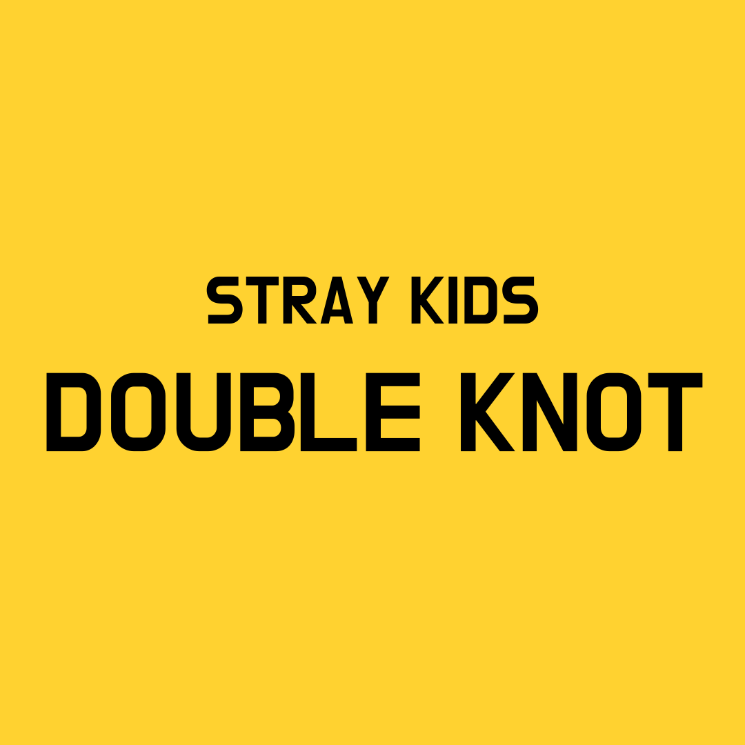 Stray Kids Double Knot