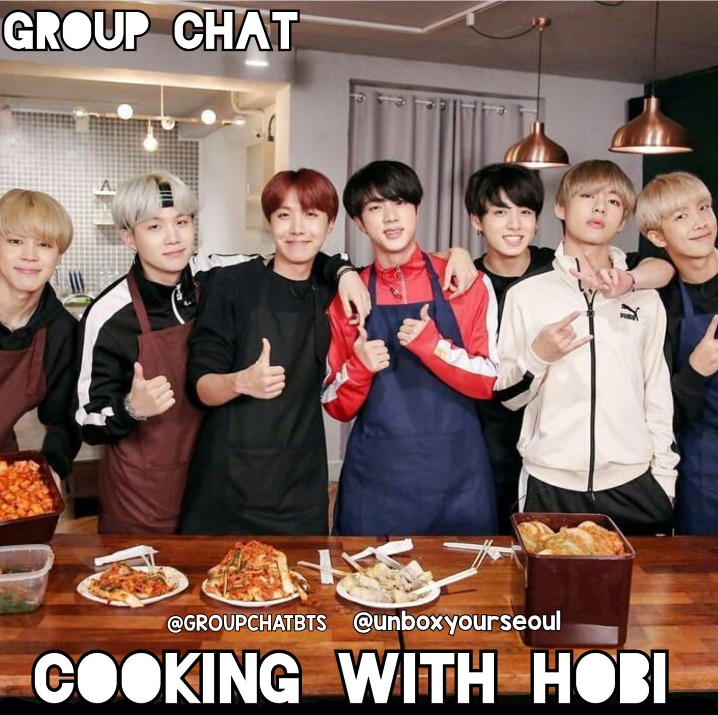 bts cooking hot chicken ramen