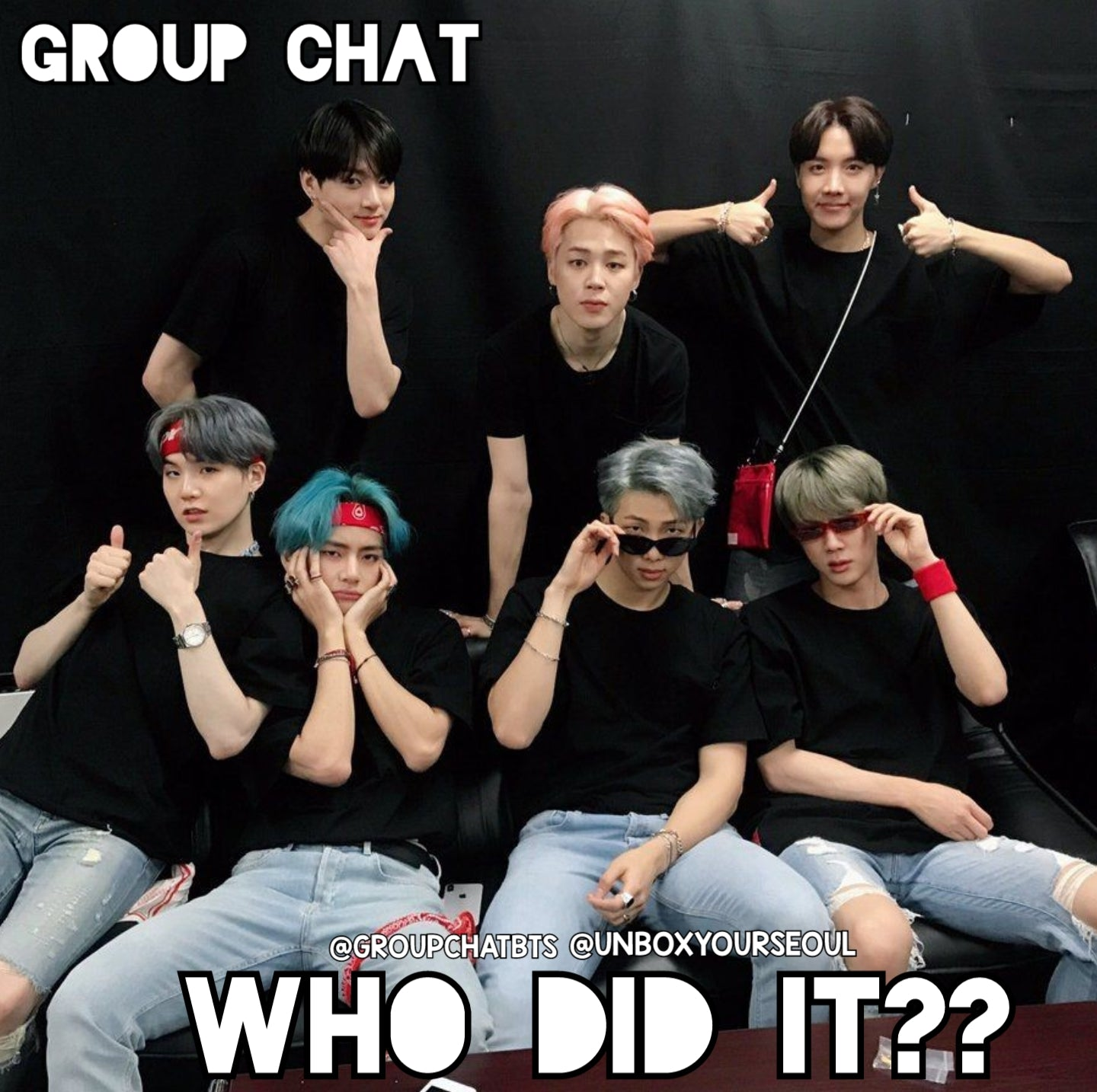 bts imagines groupchatbts groupchat fan fiction