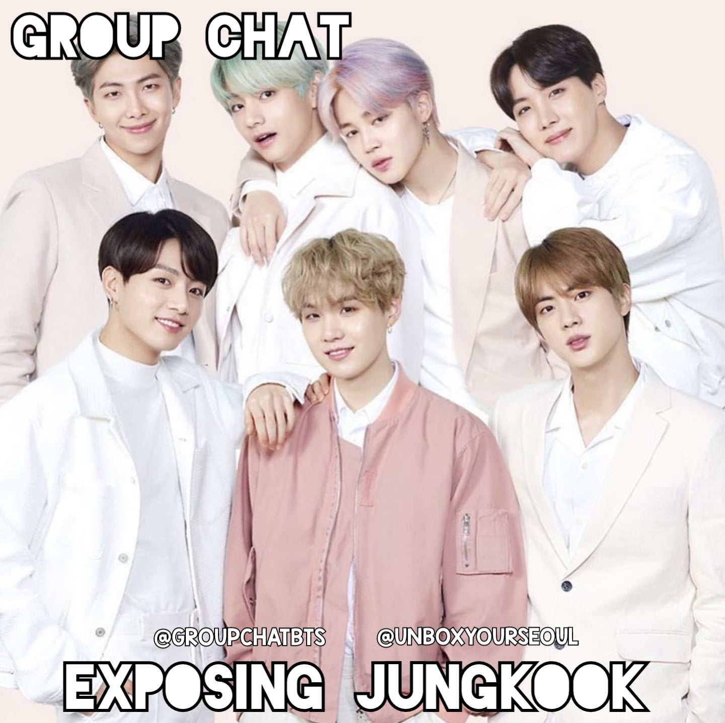 BTS imagines groupchat bts