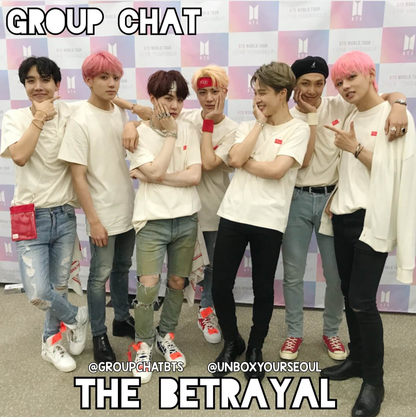 Group Chat BTS imagines