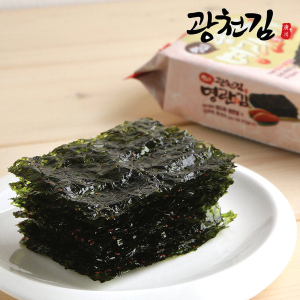 Korean seaweed snack