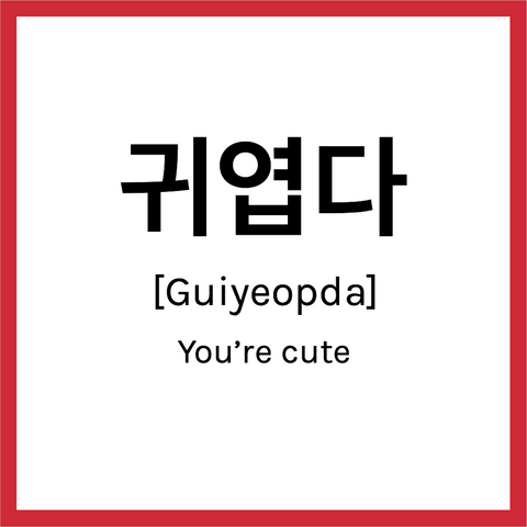 dating terms in korean
