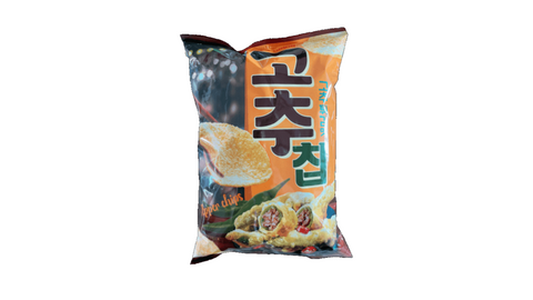 Chili chips fried chili flavor (고추 칩)