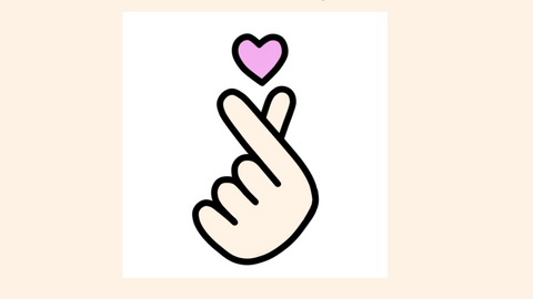 EVERYTHING YOU MUST KNOW ABOUT KOREAN FINGER HEART!