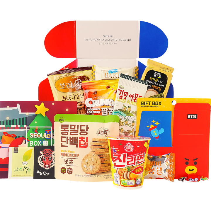 Deluxe SeoulBox Korean subscription gift box
