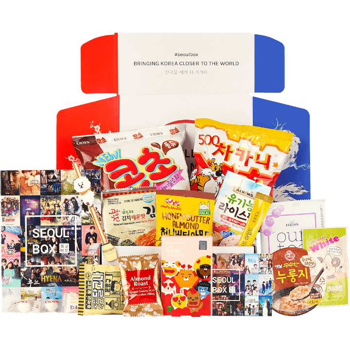 Halal SeoulBox Korean subscription gift box