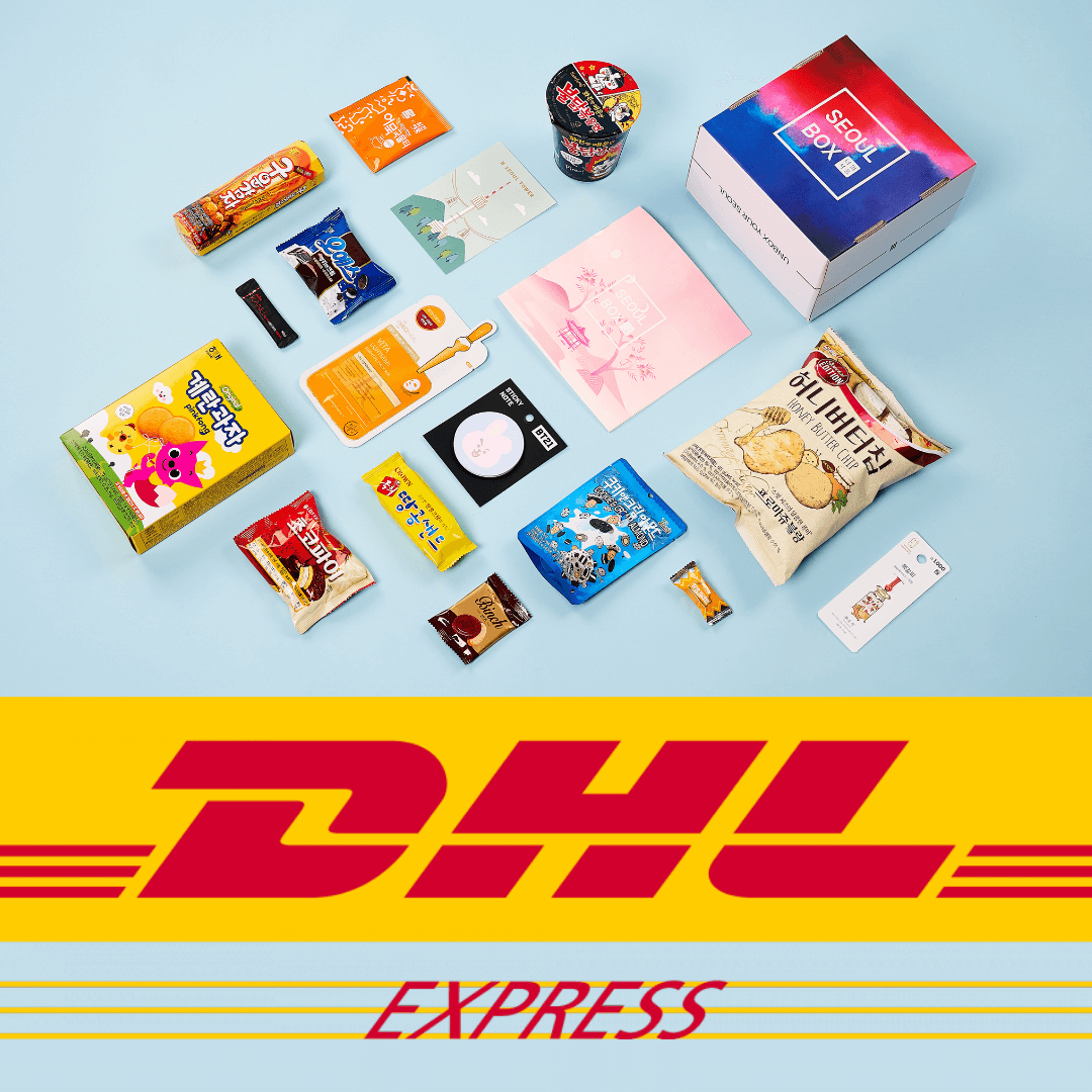 dhl express shipping seoulbox deliver fast