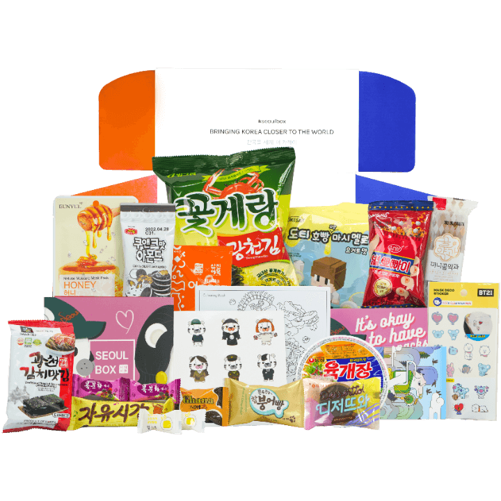 Signature SeoulBox Korean subscription gift box