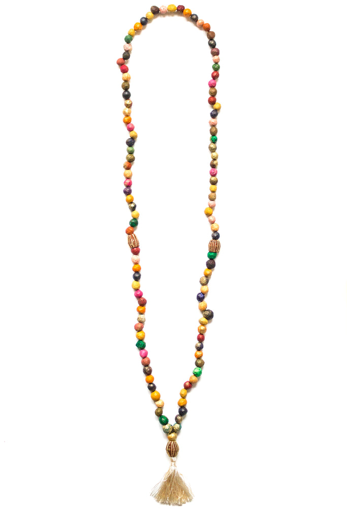 OM Mani Padme Hum Mala Necklace