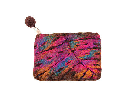 Nepalese Felted Hand Purse