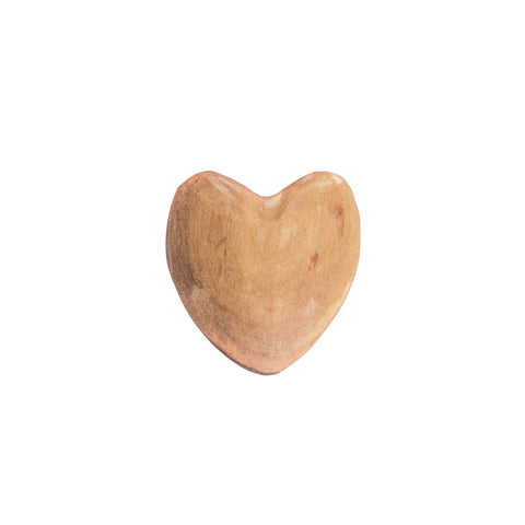 Small Olive Wood Heart