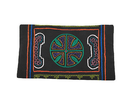 Shipibo Clutch - Green